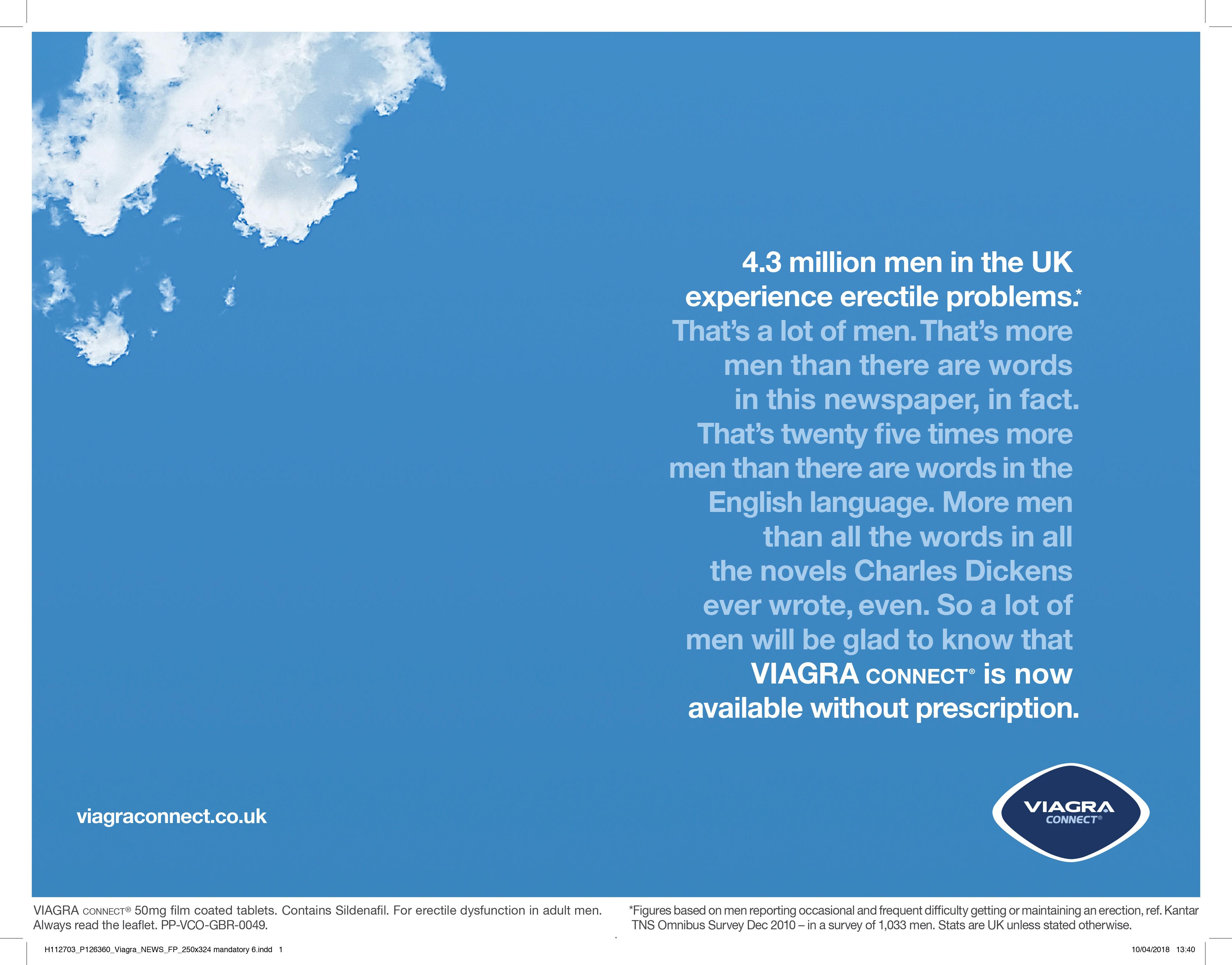 Pfizer's first U.K. ads for OTC Viagra put erectile ...