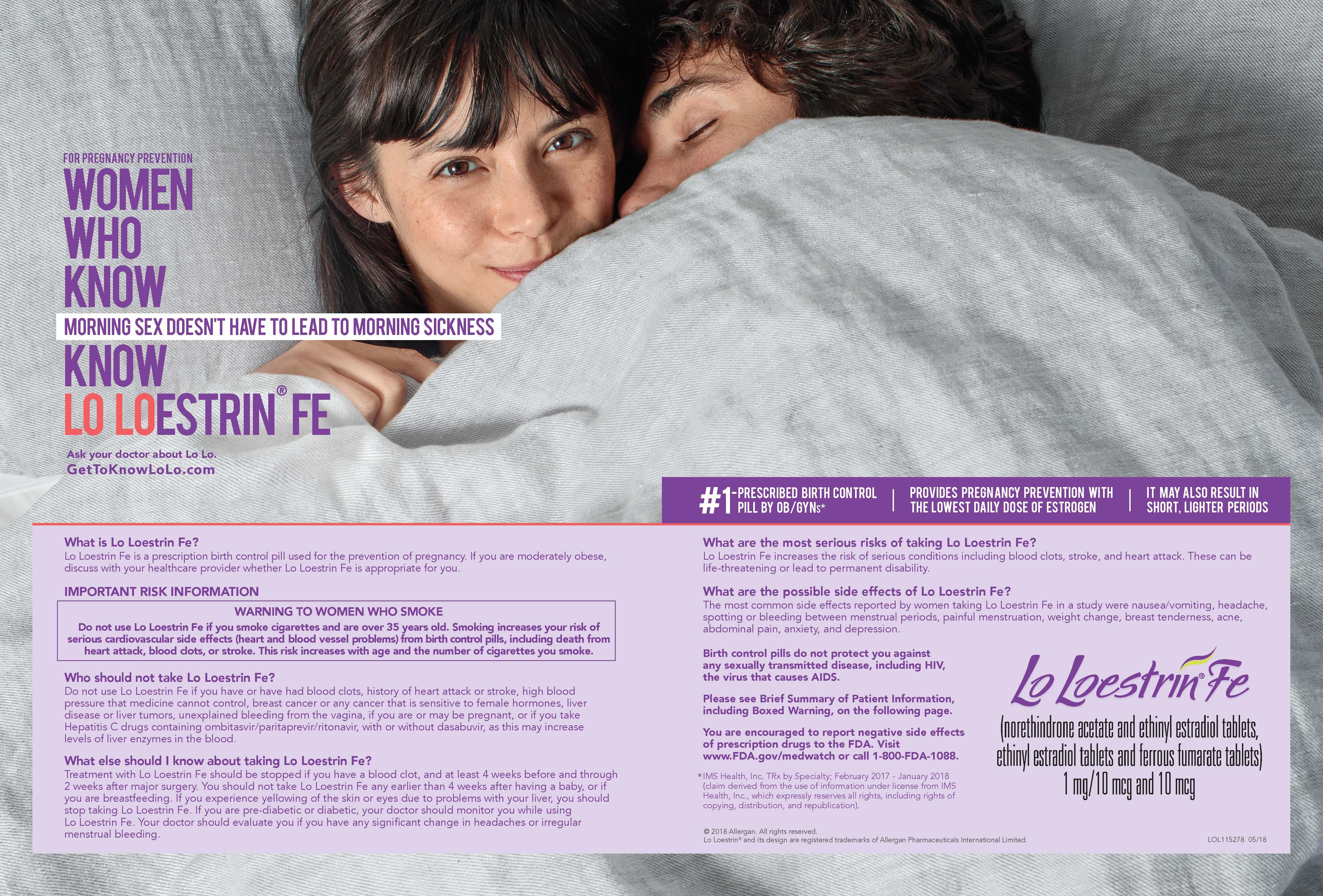 Got Lolo Allergan Hypes Ultralow Estrogen Birth Control In First Major Brand Push Fiercepharma