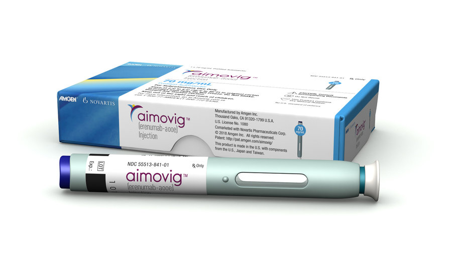 cvs puts amgen u0026 39 s aimovig in back seat behind teva  lilly