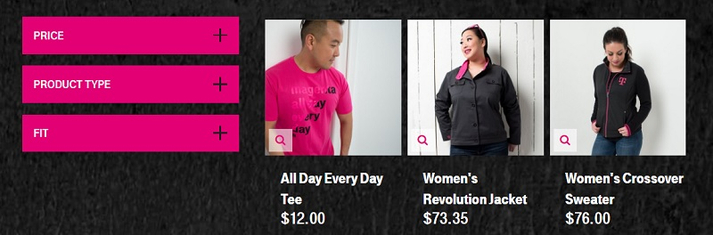d4cbf5bb3f T-Mobile quietly pushes BeMagenta apparel web store in April Fools   products