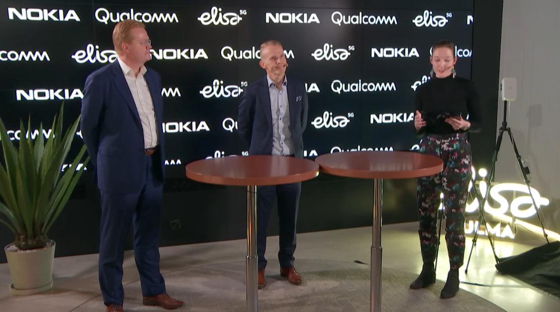 Nokia, Qualcomm, Elisa claim 5G speed record across two devices