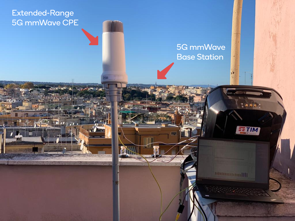 TIM, Ericsson, Qualcomm achieve 1 Gbps on 5G mmWave fixed wireless access