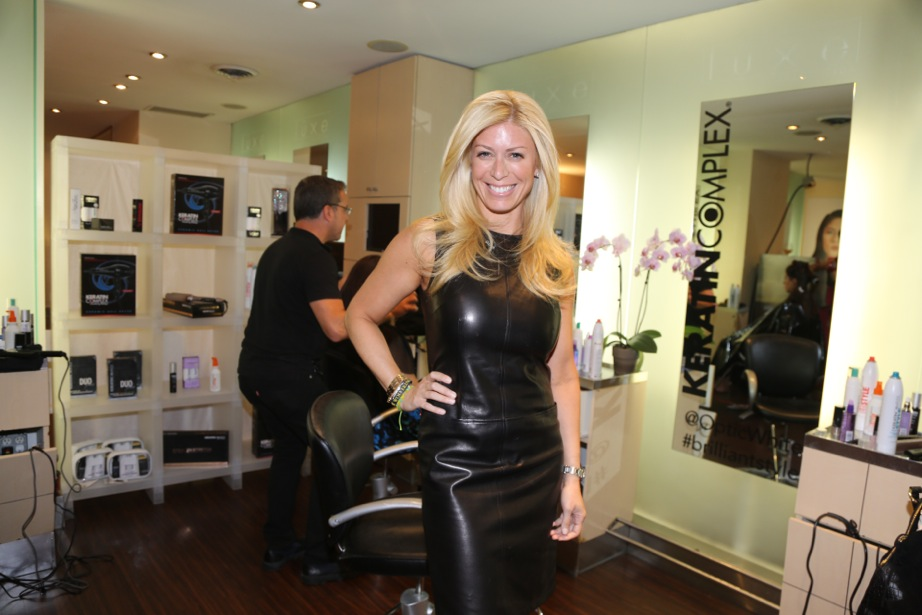 Bravo star from the Real Housewives of Miami shows off her final look.