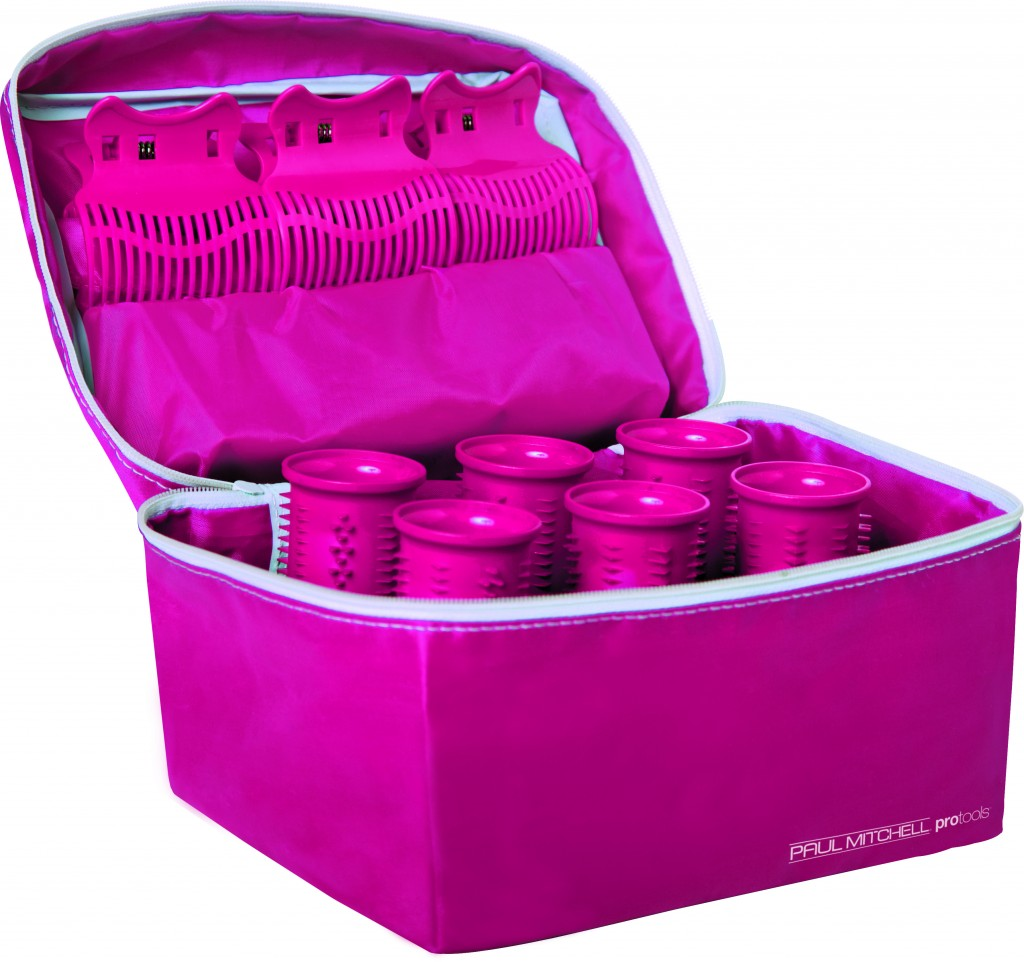 The hot pink Haute Rollers Travel Set, specially designed for breast cancer awareness, includes 6 hot rollers, reaching up to 270 degrees, 6 clamp shell clips and a thermal travel pouch. The Girls Are Alright! Campaign is a proud sponsor of The National Breast Cancer Foundation helping to encourage women to perform breast self-exams and practice methods for early detection.