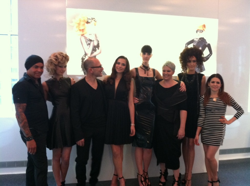 Sebastian stylists and their models