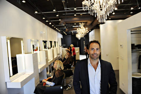Salon Hype Owner Ross Bartolomei
