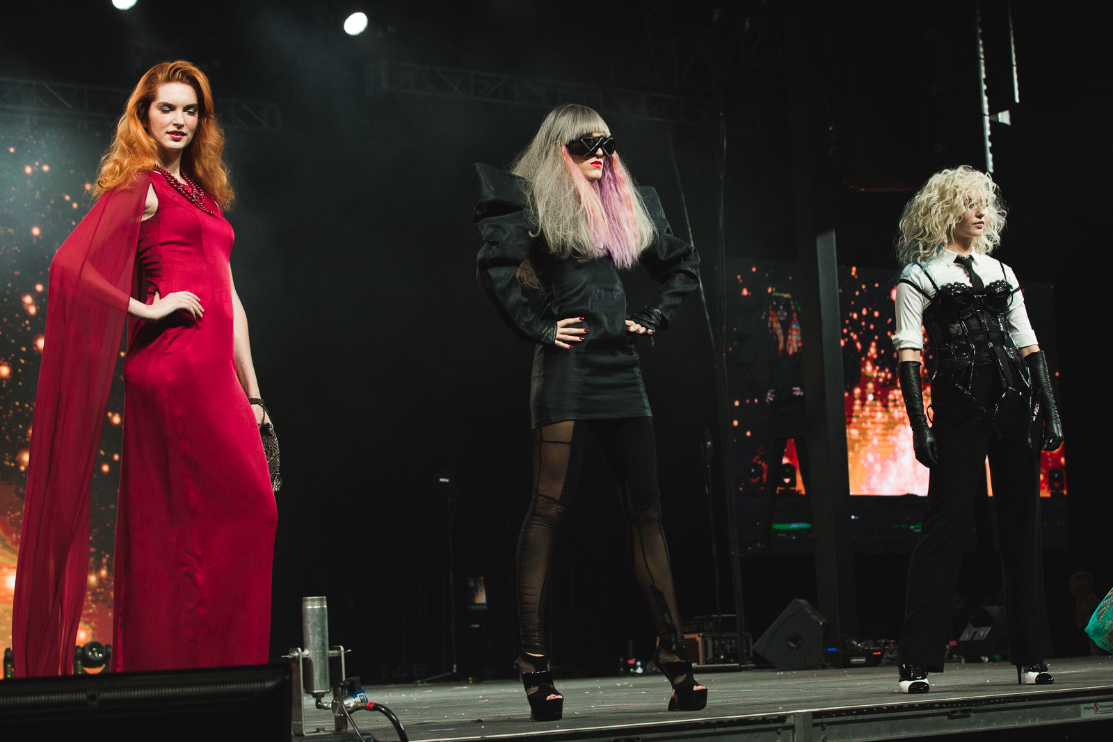Goldwell shows off their modern color icons with Nicole Kidman, Lady Gaga and Madonna inspired shades.