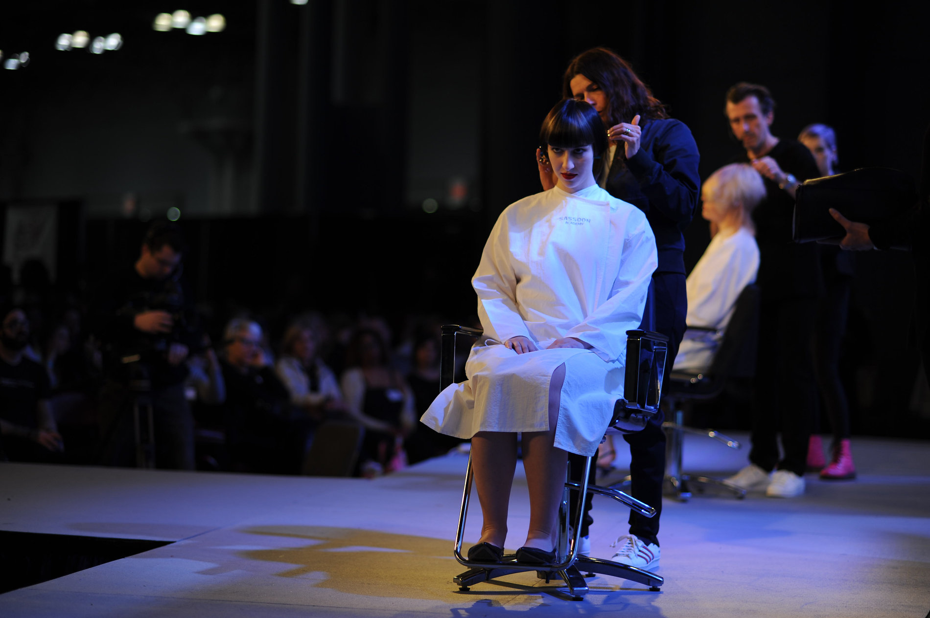 Sassoon Academys Creative Directors Tracey Sakosits and Mark Hayes on the IBS Main Stage