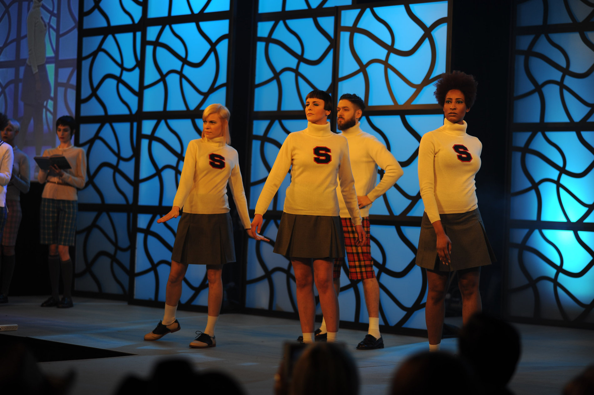 Sassoon Academy models on the IBS Main Stage
