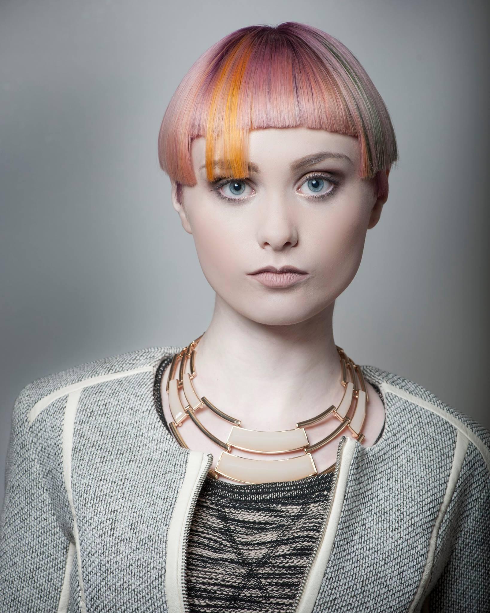 New Talent Semi-Finalist Kate Adams, Shearlous Hair Salon, Atlanta, Georgia