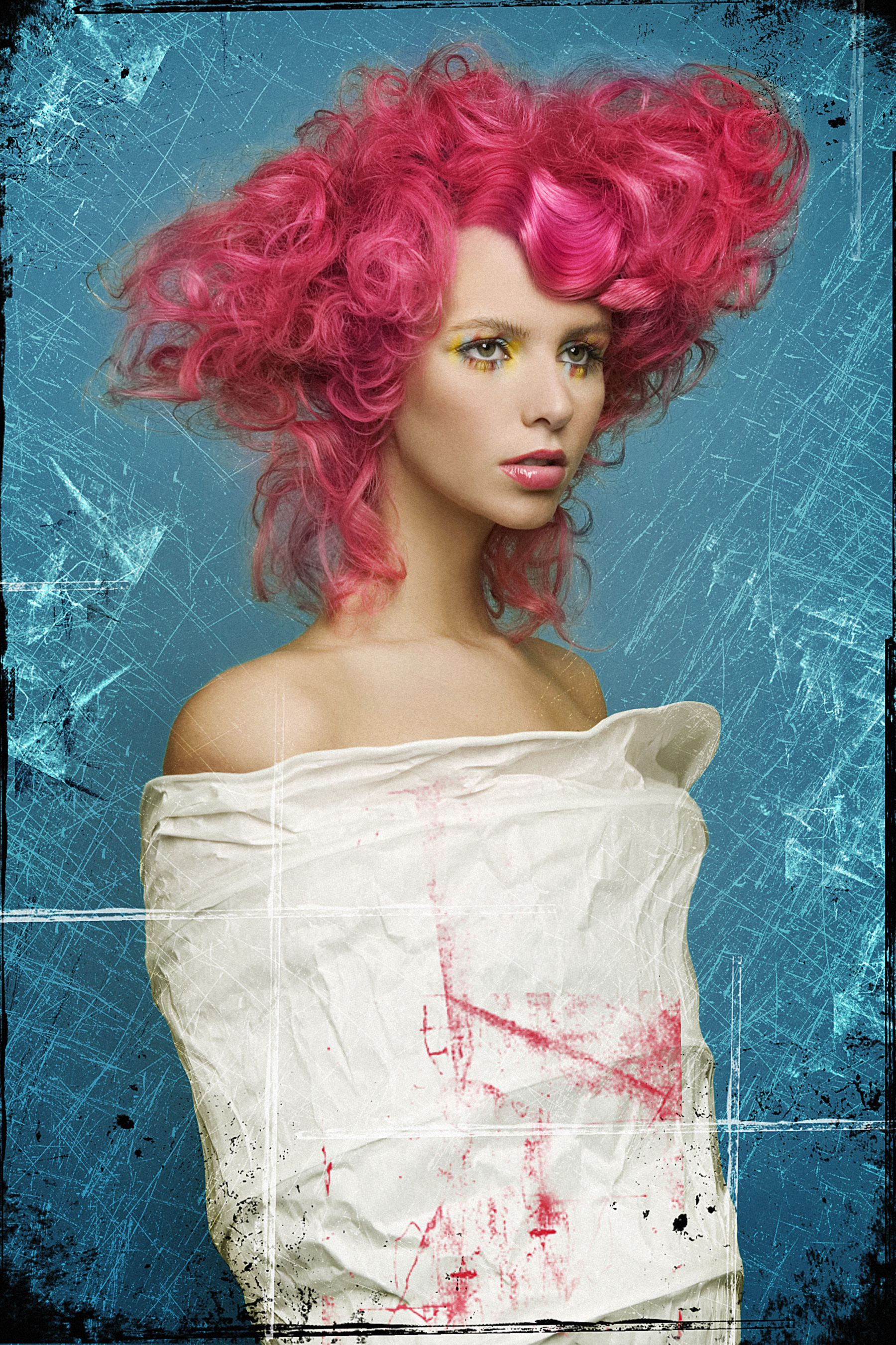2005 finalist in the Haircolor category Marjorie Clarke
