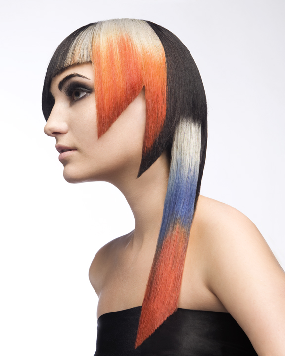 2011 finalist in the Student Hairstylist of the Year category Holly Hui