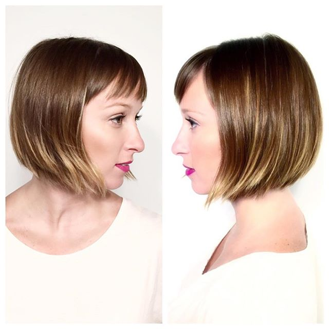 Seamless, razored im-perfection from Tracy Vasquez @scotchbonnethairstudio