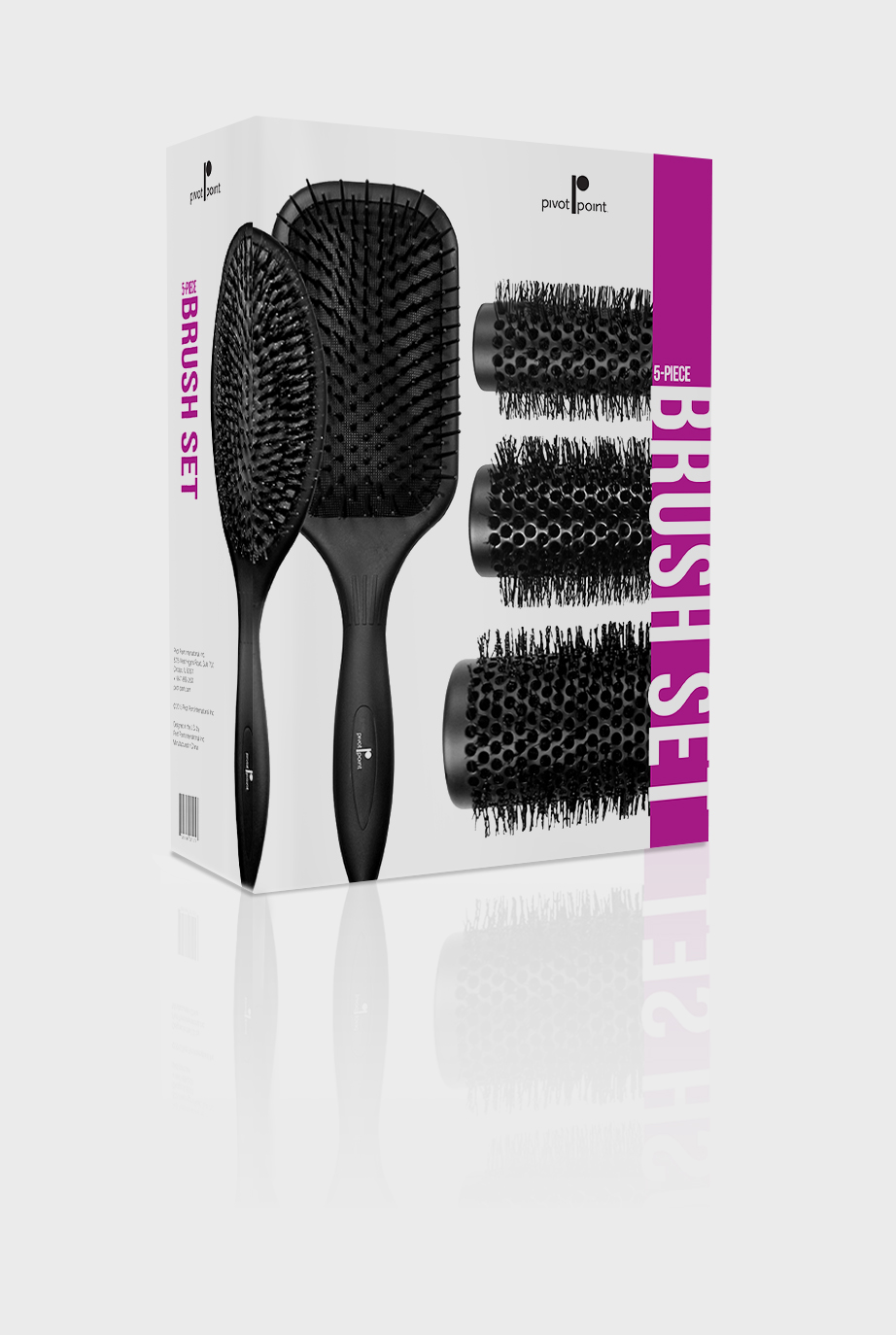 5-Pc. Brush Packaging
