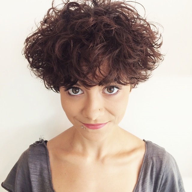 This curly, mop top from Tatum Neill, got the summer started off right back in June (@tatumneill)