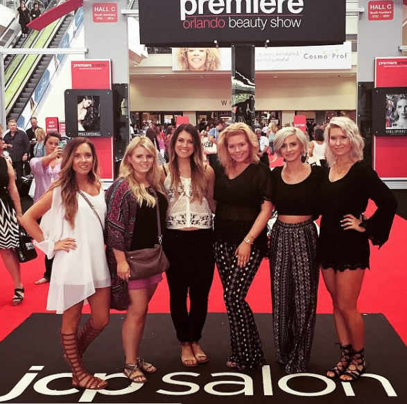The @BellaHairCo ladies are among 50,000 attendees, exhibitors, educators, and artists who will arrive in Orlando soon! (Image @BellaHairCo)
