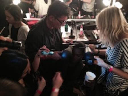 New York Fashion Week: Working backstage was always a dream of mine.