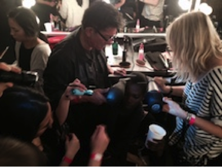 New York Fashion Week: Working backstage was always a dream of mine.