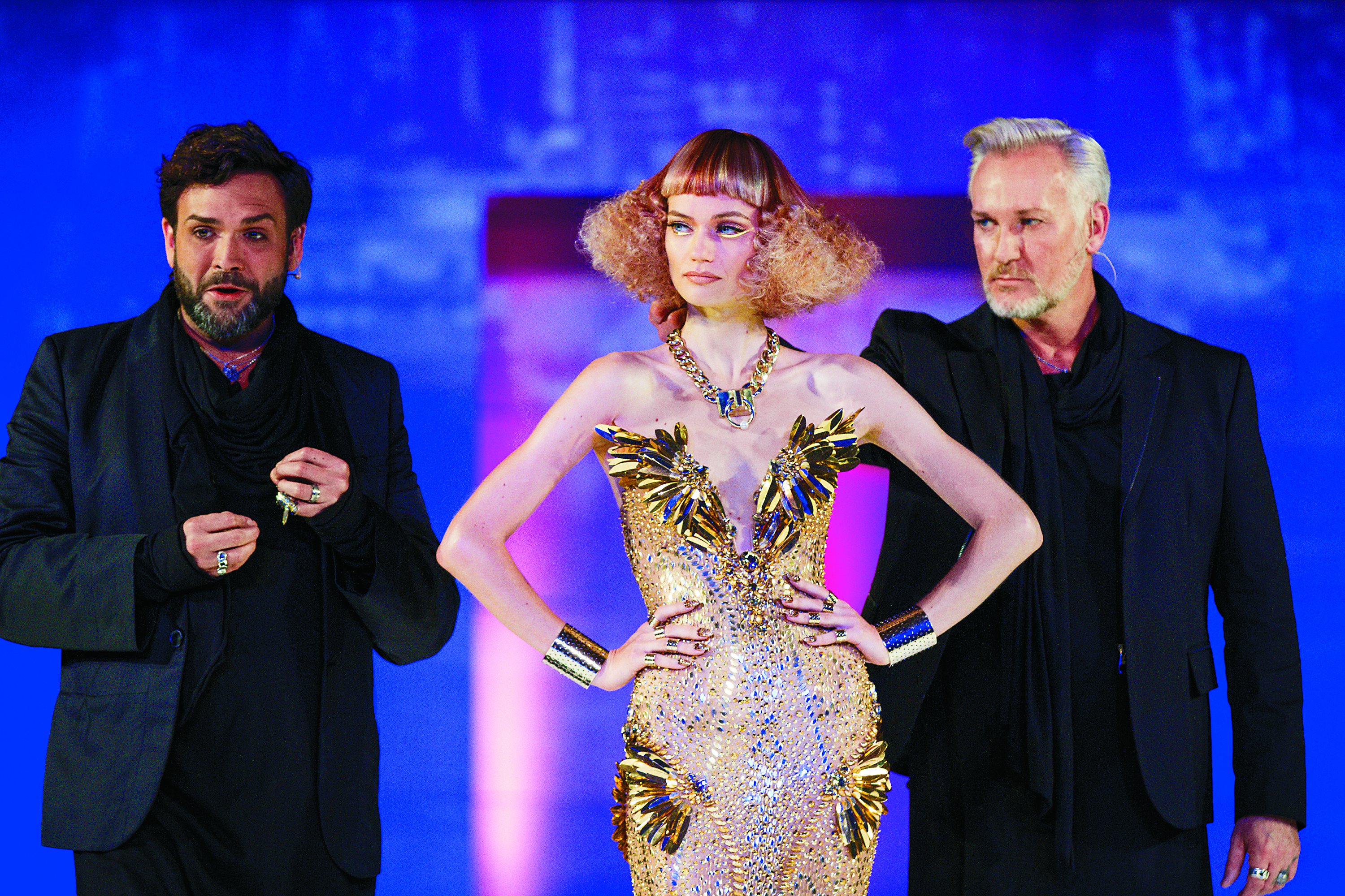 John Simpson and Christopher Dove, CoCre8 founders, collaborated with CND and design duo, The Blonds, on a high-impact presentation.