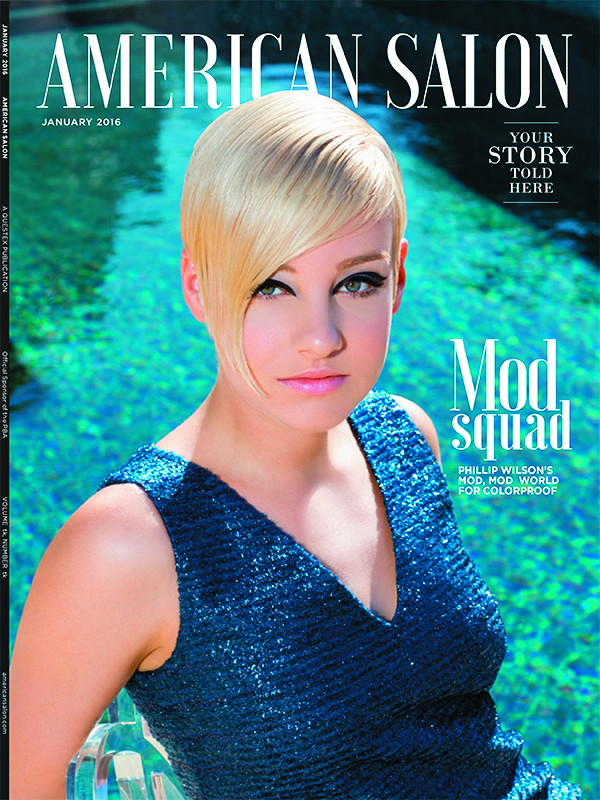 In our January issue, we neglected to credit Neiman Marcus  at Fashion Island in Newport Beach, CA, for providing the  designer clothing and accessories for our cover story, which featured ColorProof Evolved Color Care. We regret the error.