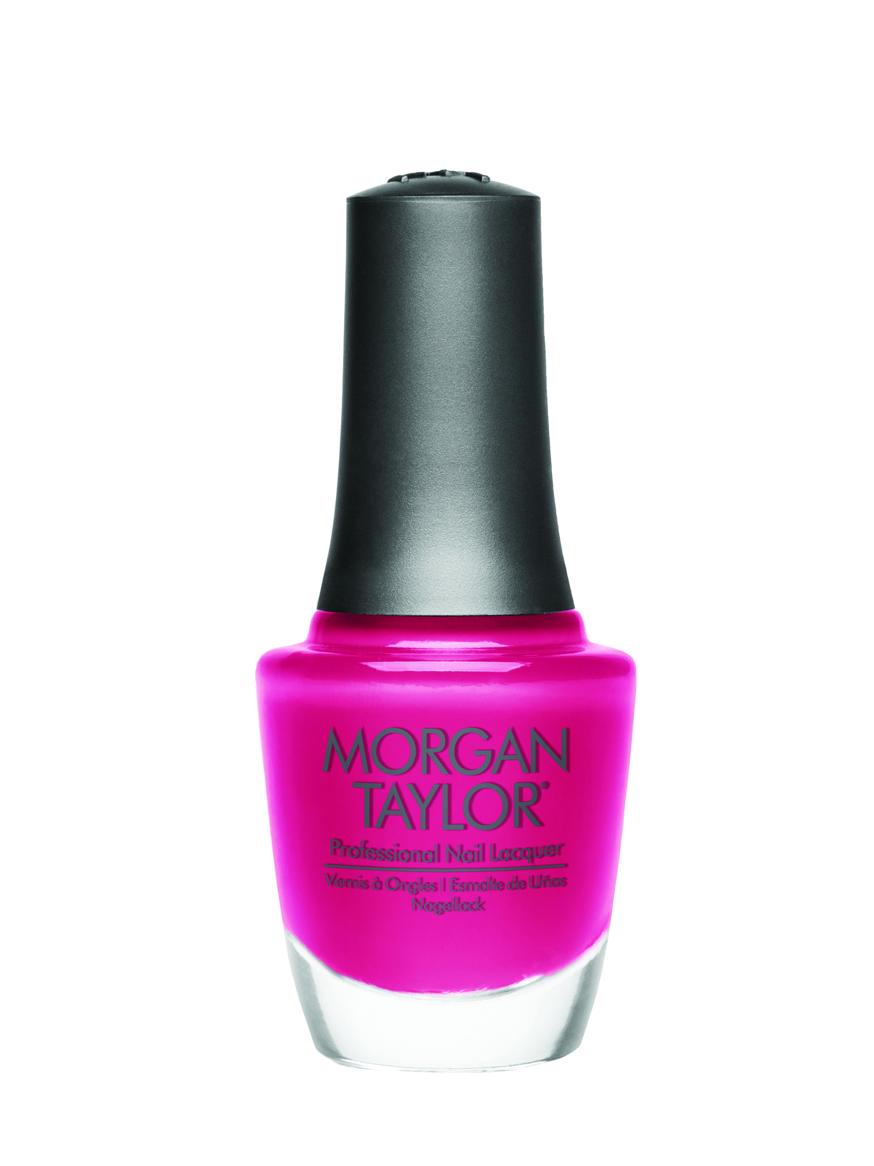 Morgan Taylor Don't Pansy Around: Color brights like coral and fuchsia are perfect for creating the eye-catching geometric designs and graphic patterns that were all over the runways.