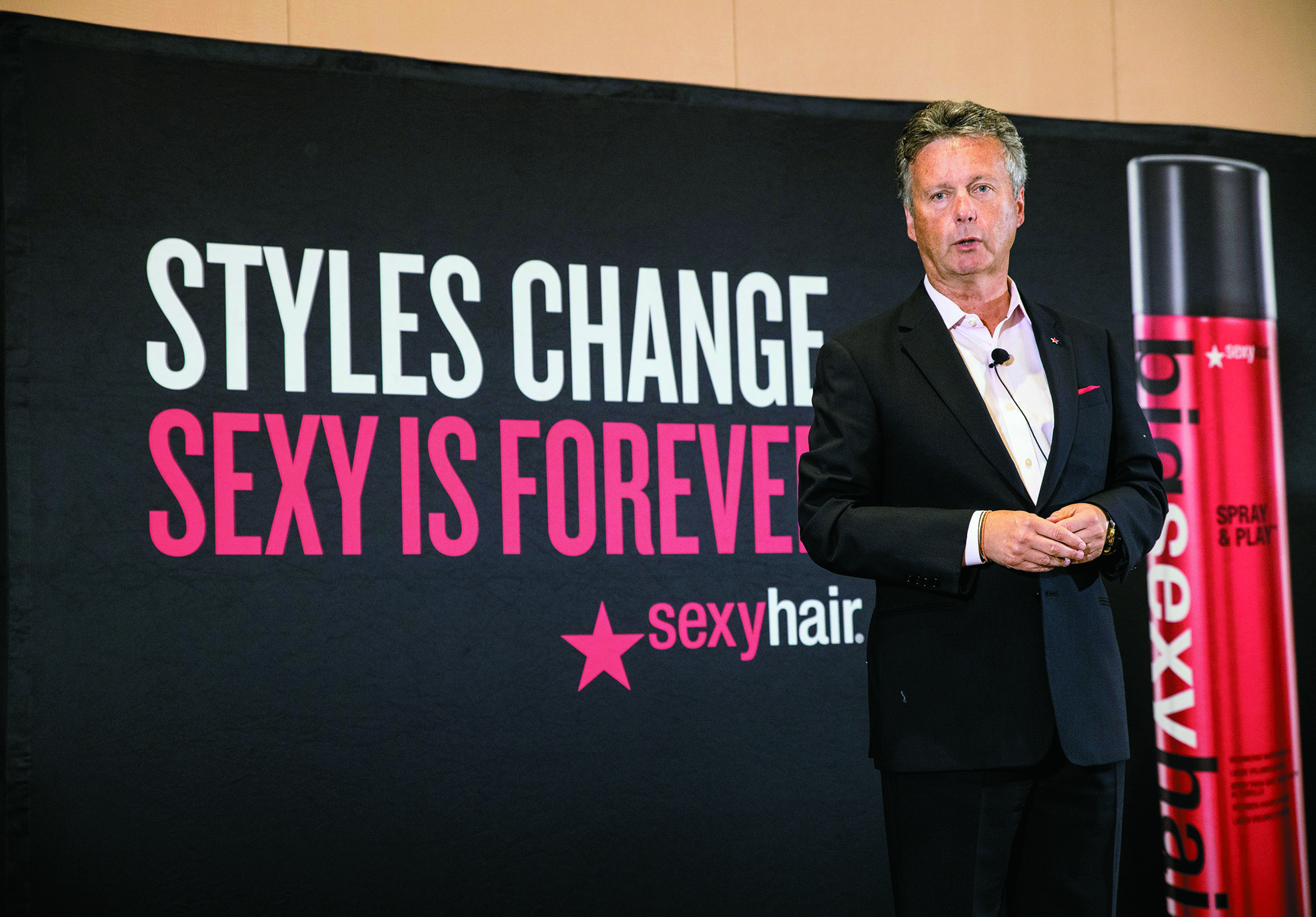Karl Heinz, president and CEO of Sexy Hair
