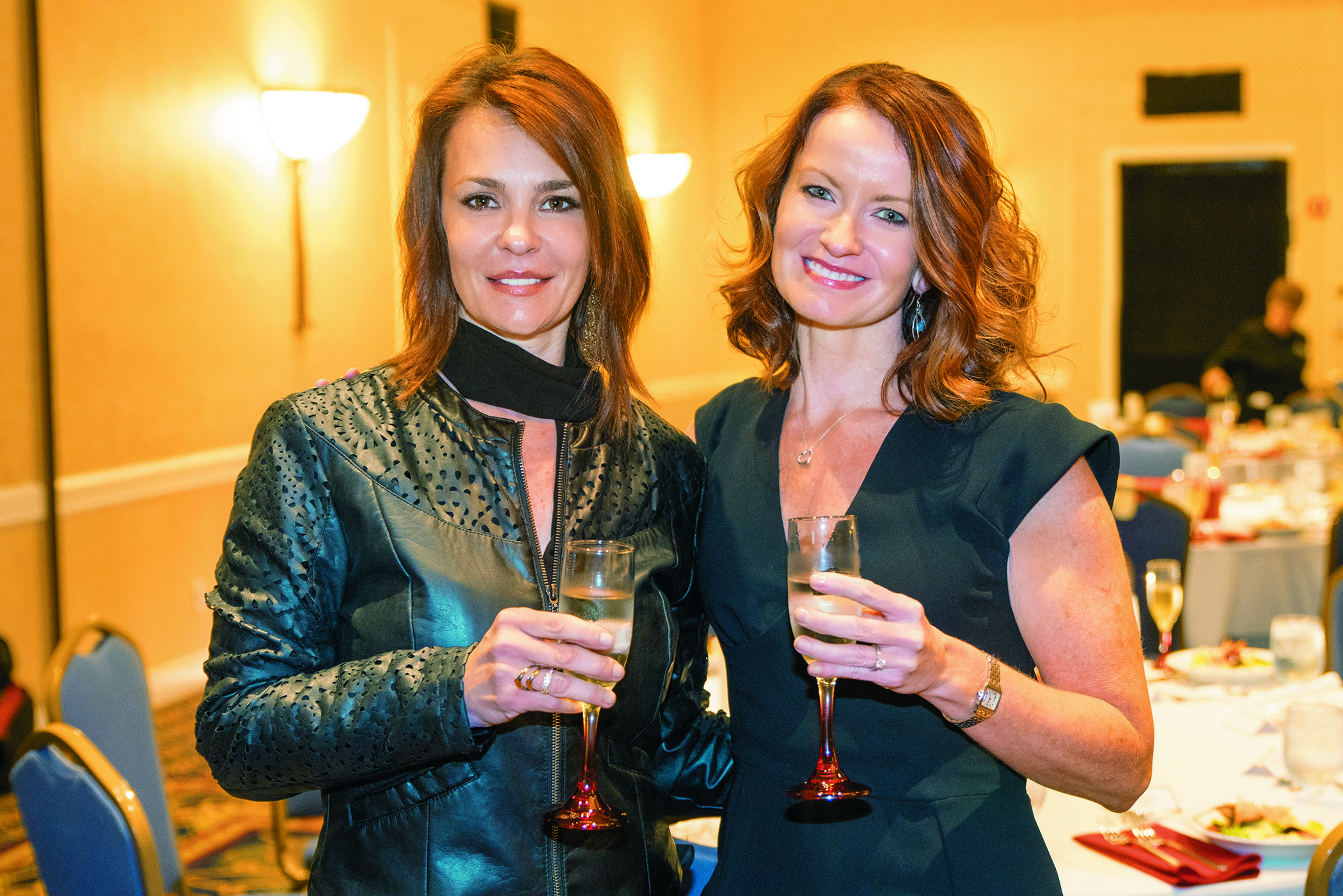 Sloane LaMartina,  director of corporate communications with Stephanie Polansky,  director of education  & shows