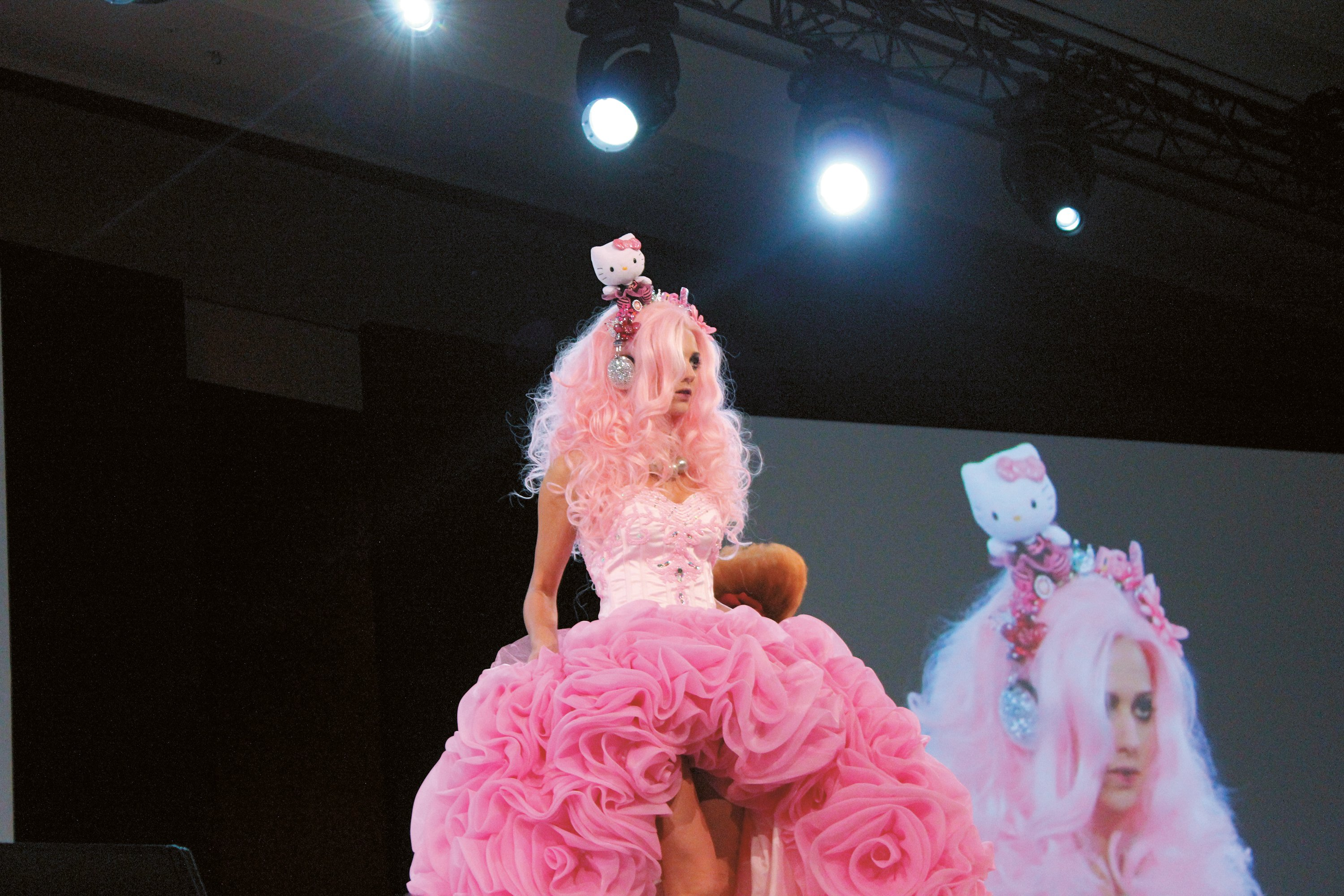 Tabatha Coffey, who suggested letting your imagination run wild to get unstuck, offered this take on Hello Kitty.