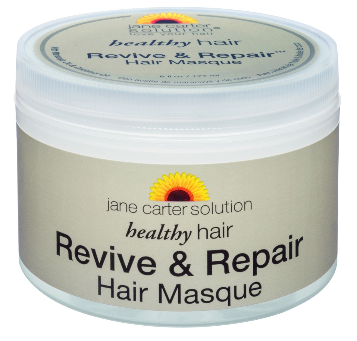 Jane Carter Solution  Revive & Repair  Hair Masque  restores natural oils back into dry hair and can be used as a deep conditioner with or without heat. Works on all hair types, including color-treated and relaxed hair.