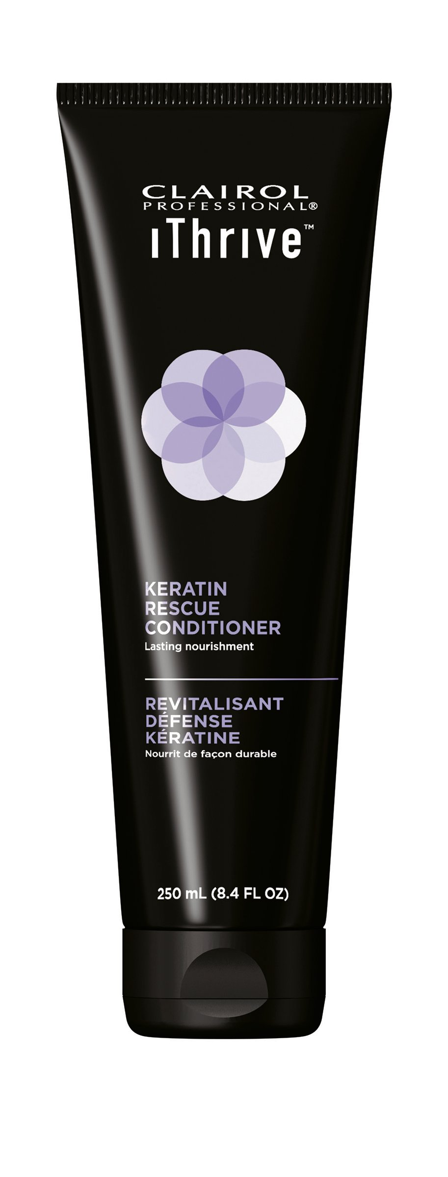 Clairol  Professional IThrive Keratin Rescue Conditioner creates a layer of protection around each hair, delivers lasting nourishment and revives dry, damaged hair.