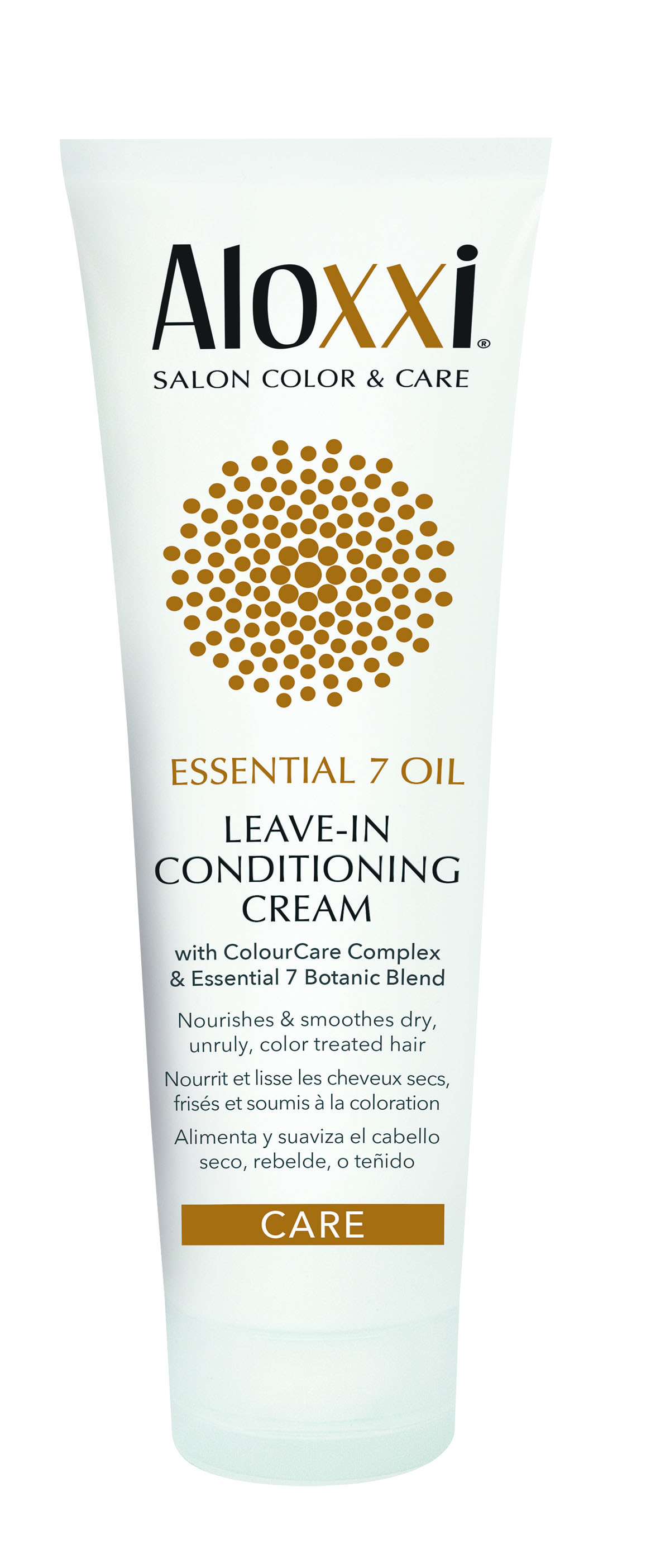 Aloxxi Essential 7 Oil Leave-In Conditioning Cream is perfect for wavy-haired clients. A blend of 10 antioxidant extracts weightlessly restores hydration and elasticity to the hair.