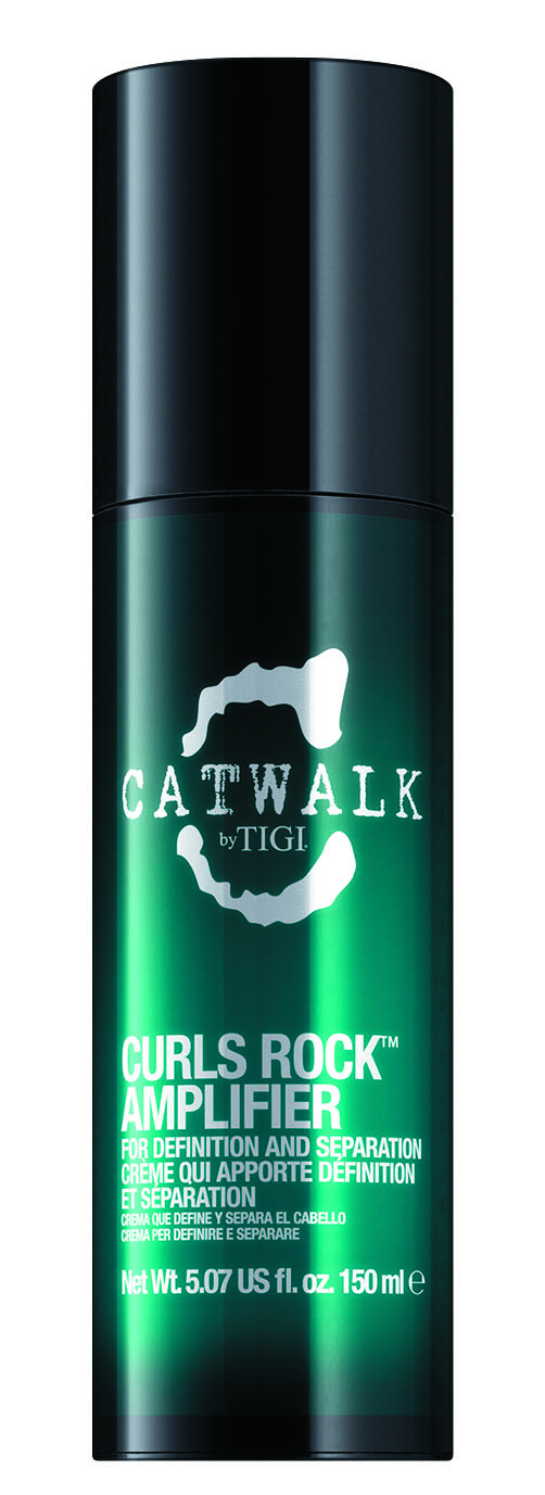 Catwalk by TIGI Curls Rock Amplifier  has a touch of hold and a blend of light oils, making it the perfect choice for longer-looking, well-defined waves.
