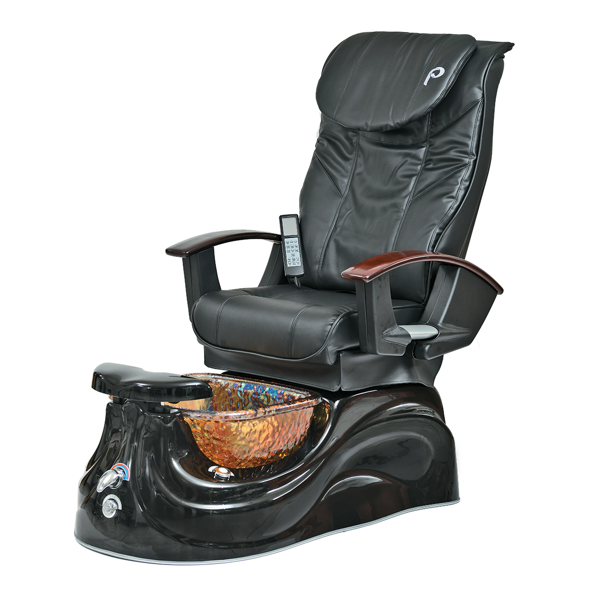 Game of Thrones: There are pedicure spas and then there's the San Marino Pedi Spa from Pibbs. Pipe-free with magnetic jets, it features motorized reclining and forward/backward chair controls and offers deep kneading, tapping or rolling Shiatsu massage. The sleek European-designed black base and elegant swirled glass bowl is just icing on the cake.