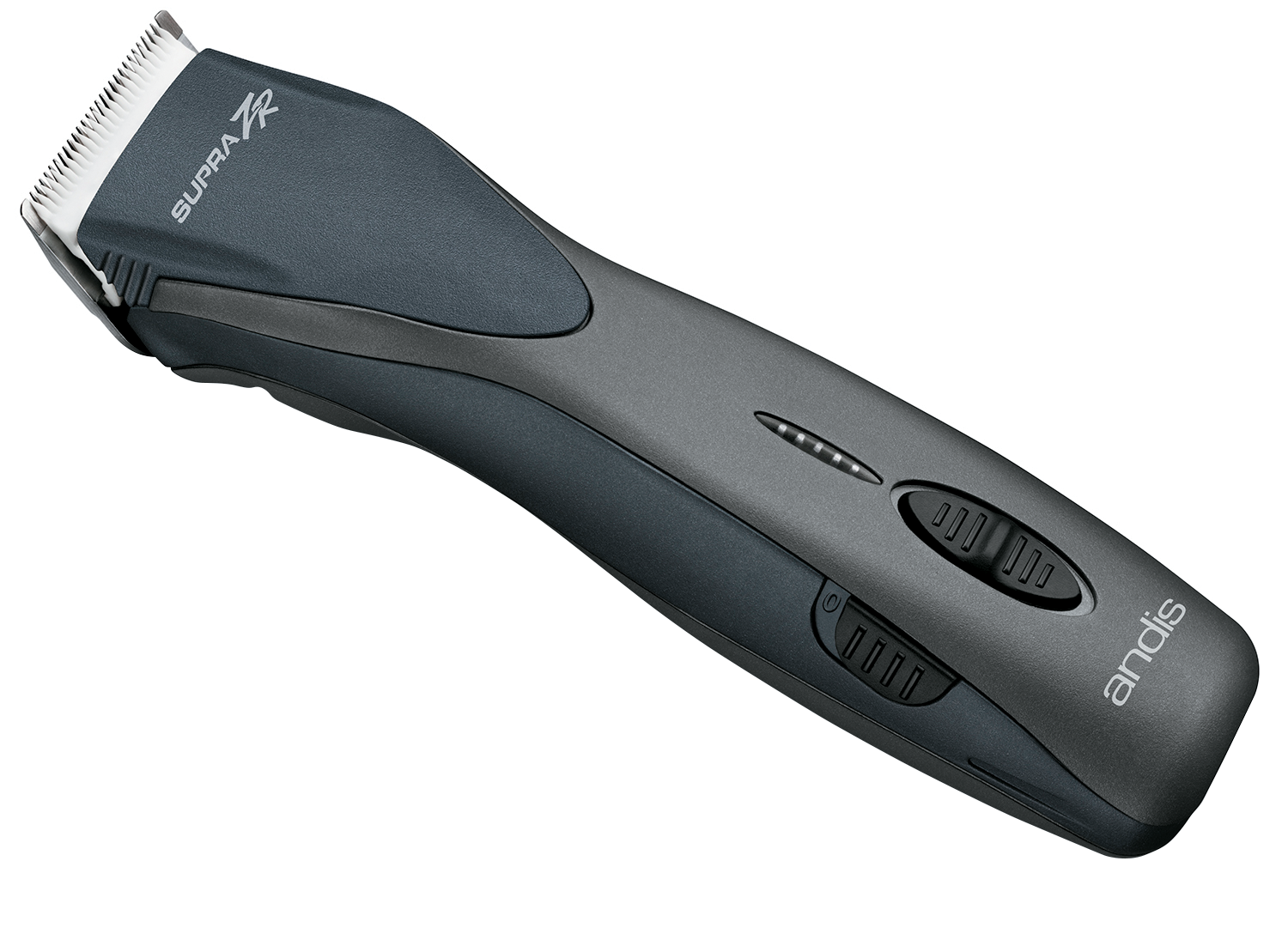 ANDIS Supra ZR Detachable Blade Clipper is cordless, delivers up to two hours of run time and offers five cutting speeds. The interchageable blades can achieve any cut on wet or dry hair.