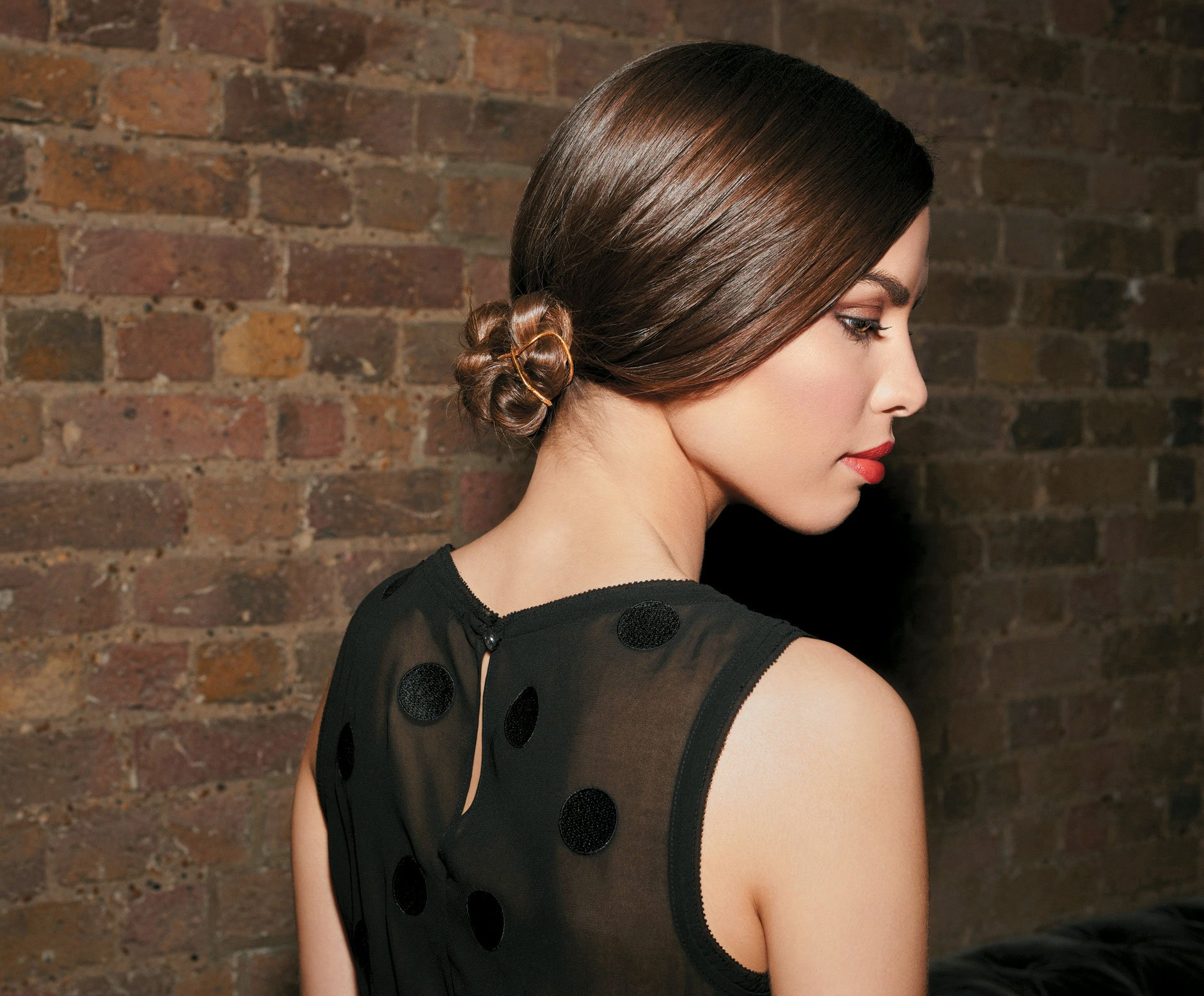 Sleek & Chic Chignon