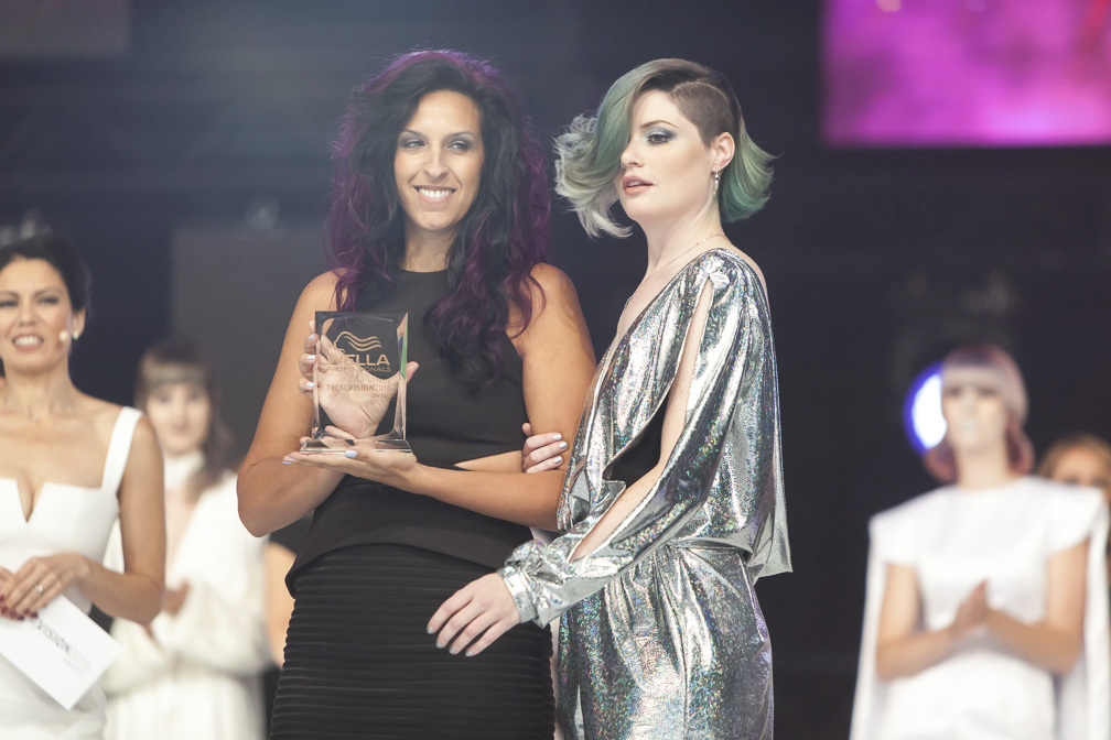 COLOR VISION CANADA: Bronze:  ADRIANA DICINTIO, SALON GABOA, WOODBRIDGE, ON