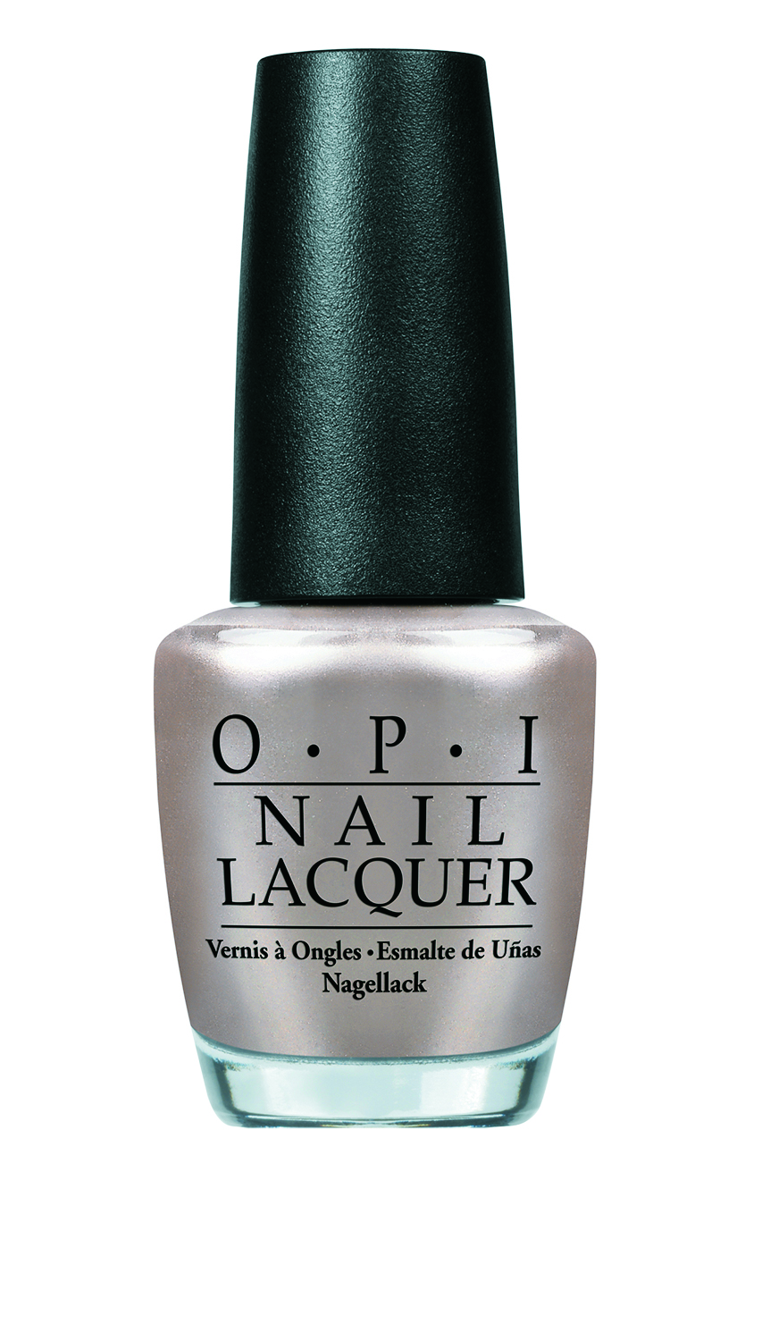 OPI Take a Right on Bourbon: From metallic stripes to liquid chromes to silver stars—the futuristic hue was seen at the designer shows of Chanel, 3.1 Phillip Lim and Noon by Noor.