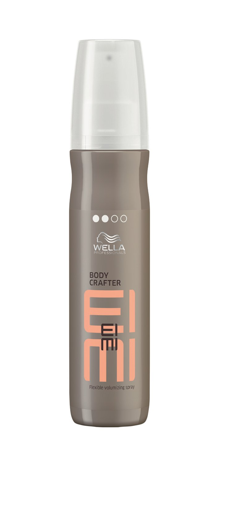 Wella  EIMI Body Crafter makes it easy to create workable texture and volume with hold and control.