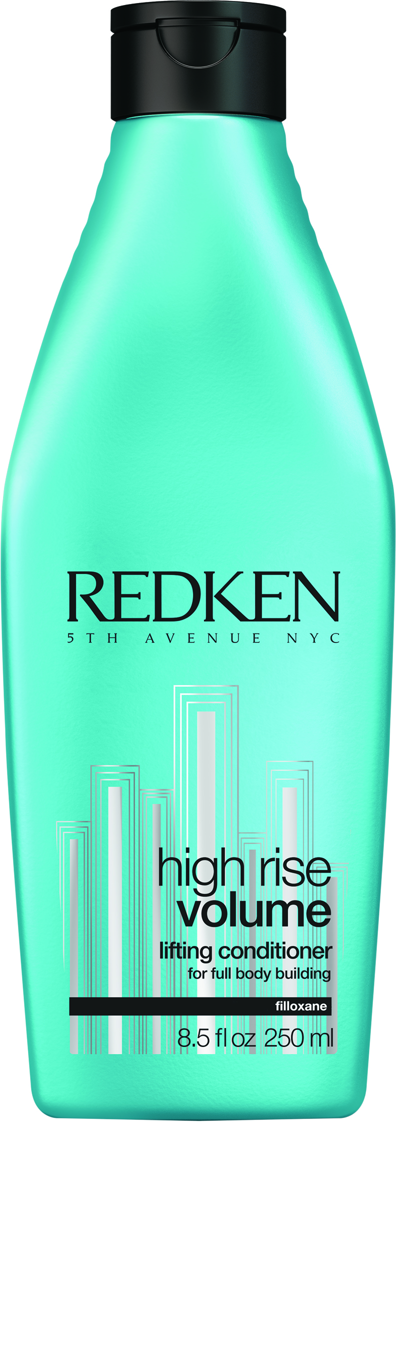 Redken High Rise Volume Lifting Conditioner contains a lightweight, volume-boosting blend of filloxane and softening polymers, creating lift and body.