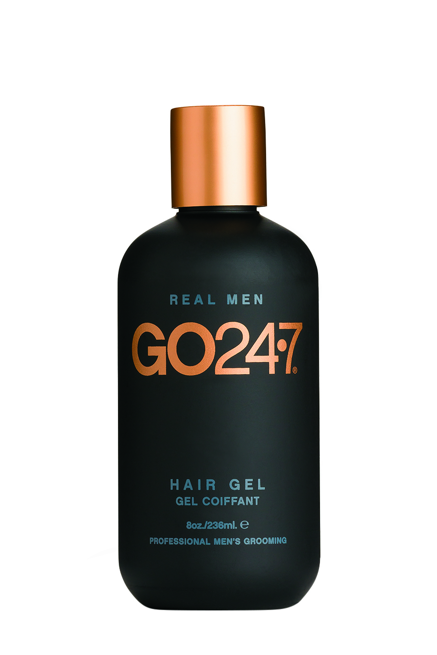 Unite Go 24.7  Hair Gel provides firm hold and can be used on damp or dry hair to keep a style in place.