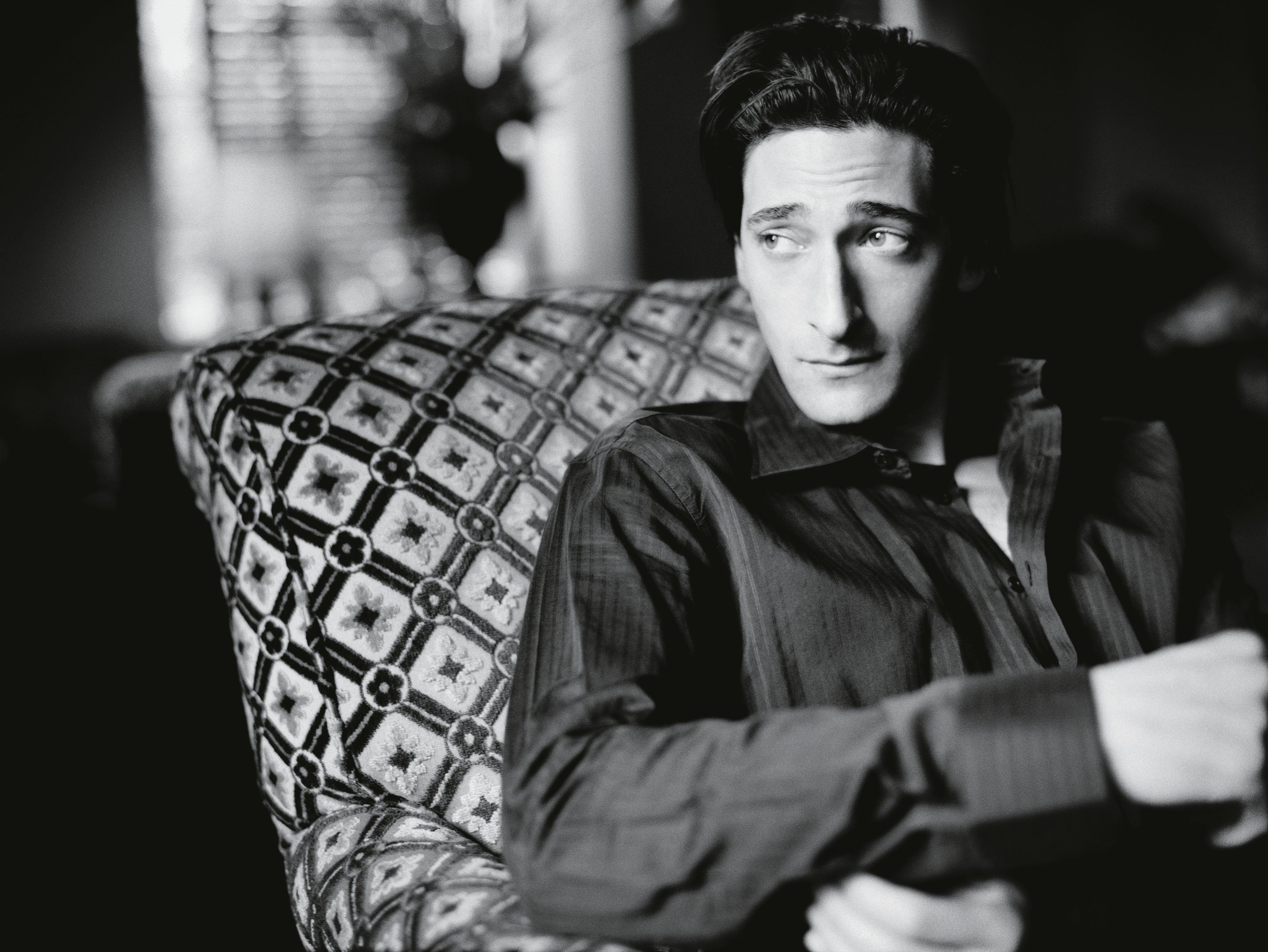 """The most treasured memory Raccuglia has from photographing Adrien Brody was the conversation not about his Academy Award nomination for The Piano, but about his mother, Hungarian photographer Sylvia Plachy. """"He was telling me about the movie he just did, and how he wanted to get some photos shot before the awards,"""" Raccuglia says. """"I was like 'Oh, that's great … so! Tell me more about your mom.'"""""""