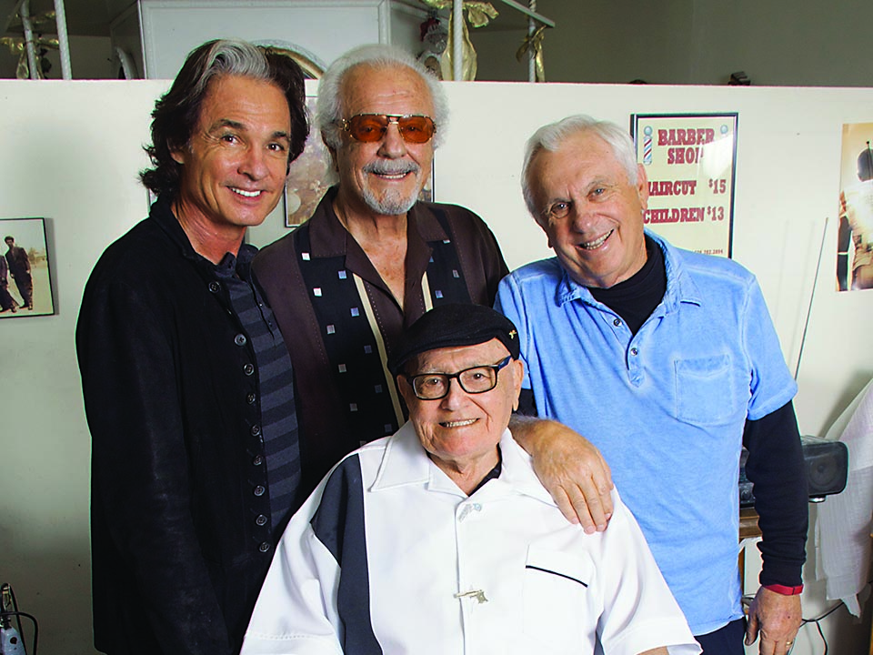 Barbershop Quartet: Luke O'Connor with his uncles Frank, John and Luigi Venti