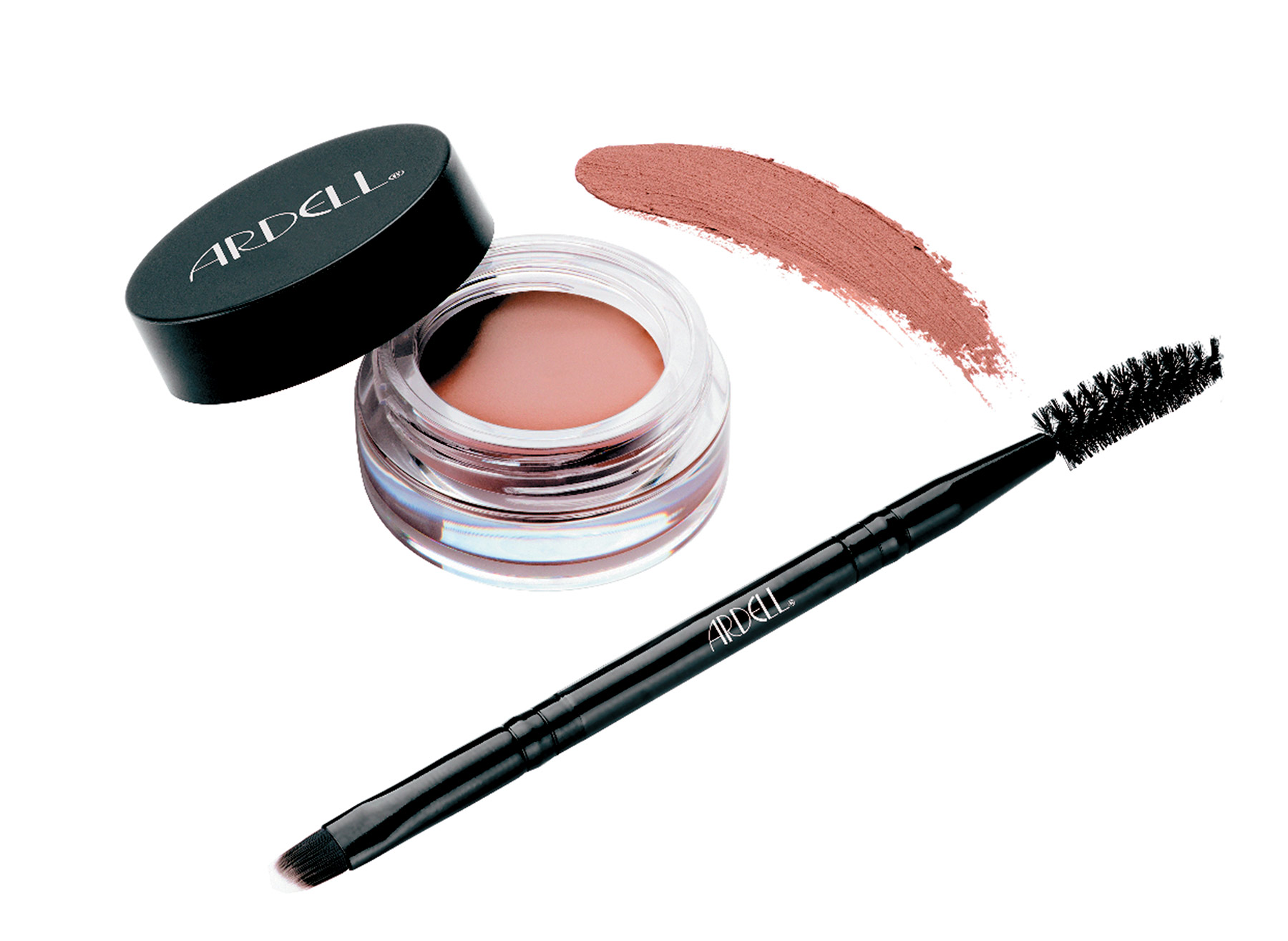 ARDELL PROFESSIONAL BROW POMADE The creamy, easy- to-blend formula sculpts and sets brows without any smudging.