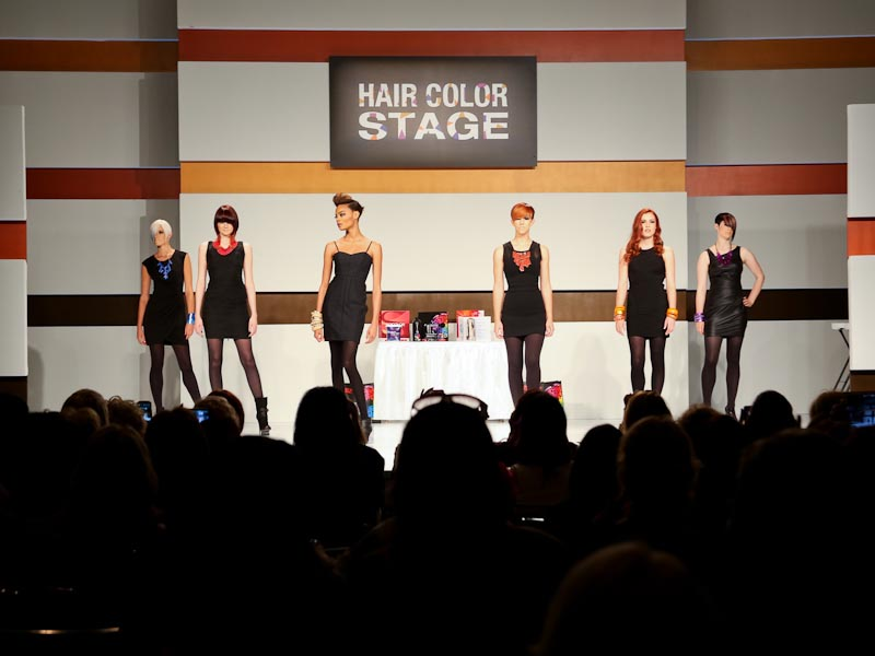 Hair Color Stage Education