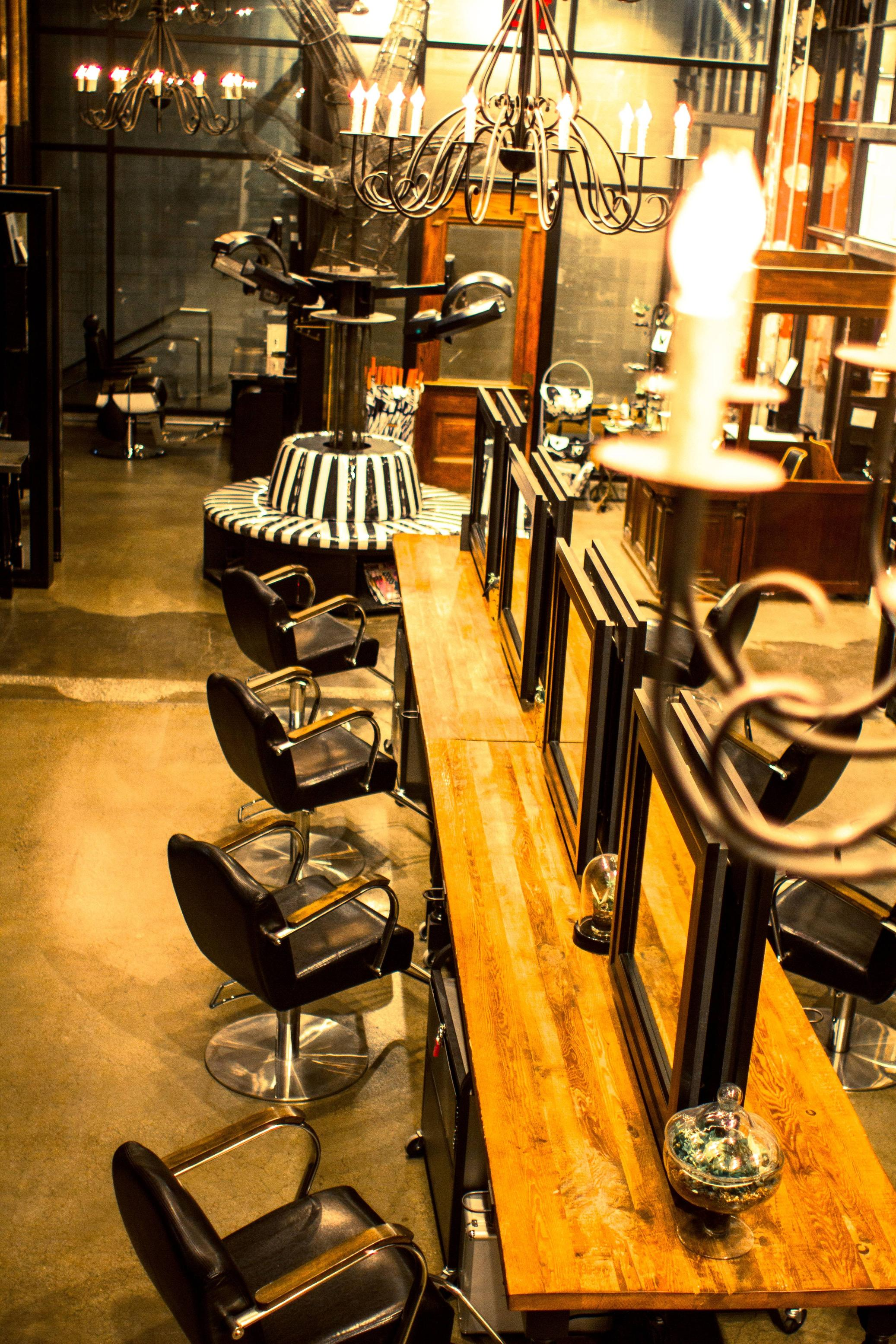 Hairroin Salon NYC, Salon Design, New York, NY (NAHA 2015 finalist/Courtesy of PBA)