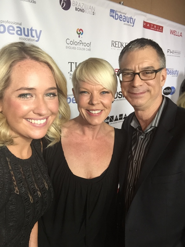 Director of Digital Gordon Miller, Kelsey Murray and Tabatha Coffey