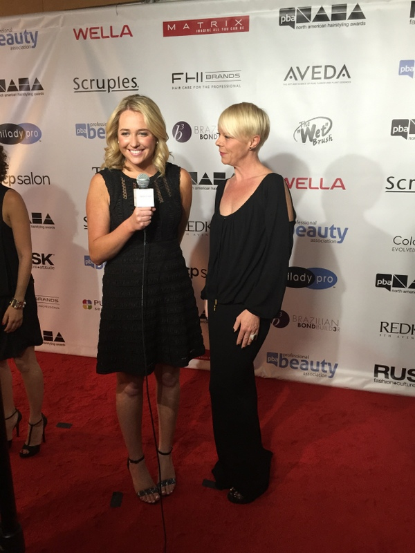 Kelsey Murray and Tabatha Coffey on the NAHA red carpet.