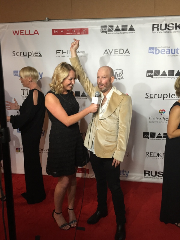 Kelsey Murray and Charlie Price on the NAHA red carpet.