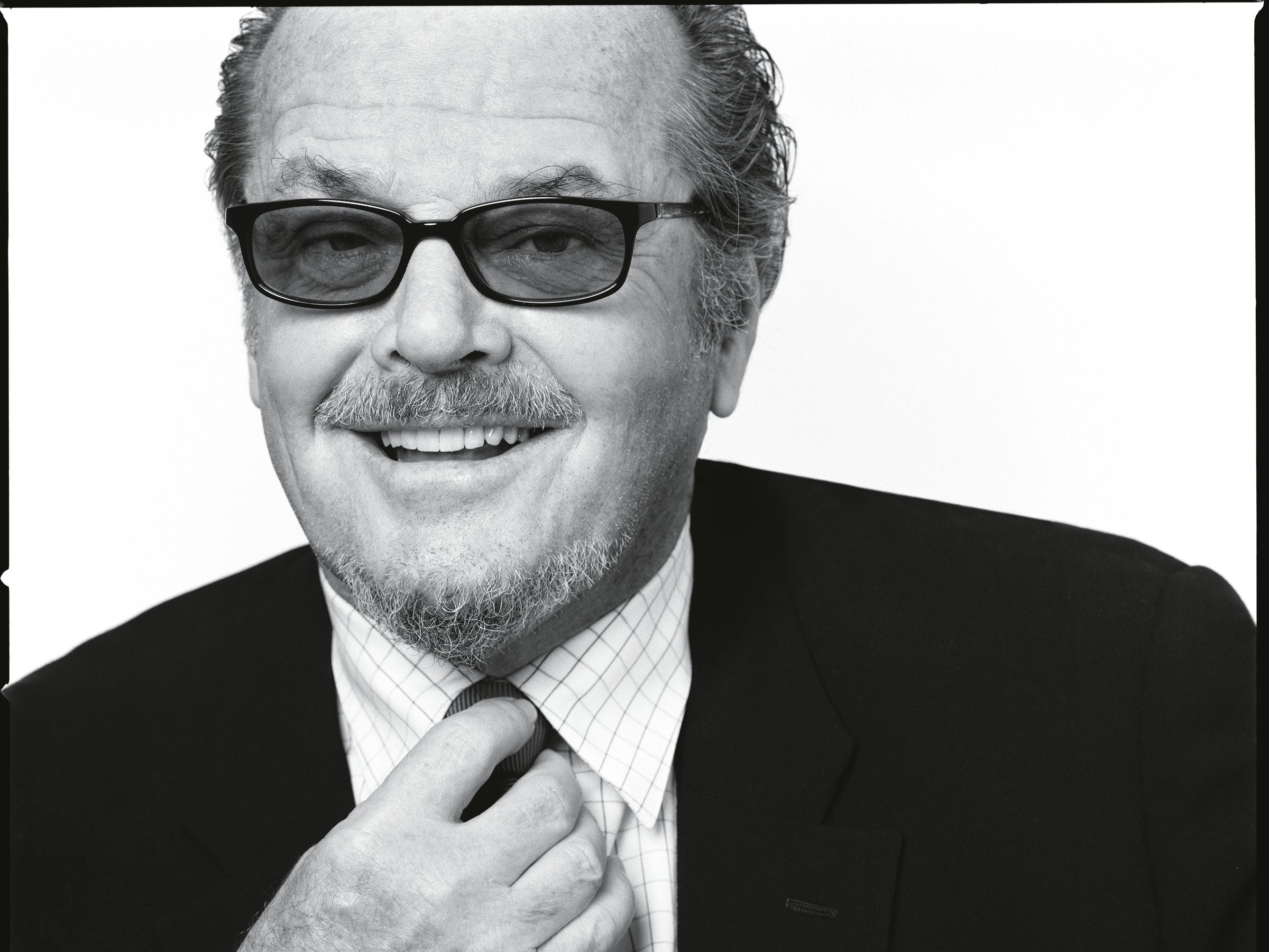 """Raccuglia photographed Jack Nicholson at his home on Mulholland Drive. """"It was around two o'clock in the afternoon when I arrived, and he looked like he just got out of bed,"""" he says. """"He looked at me and said, 'This won't take long, will it?' He was just really cool."""""""