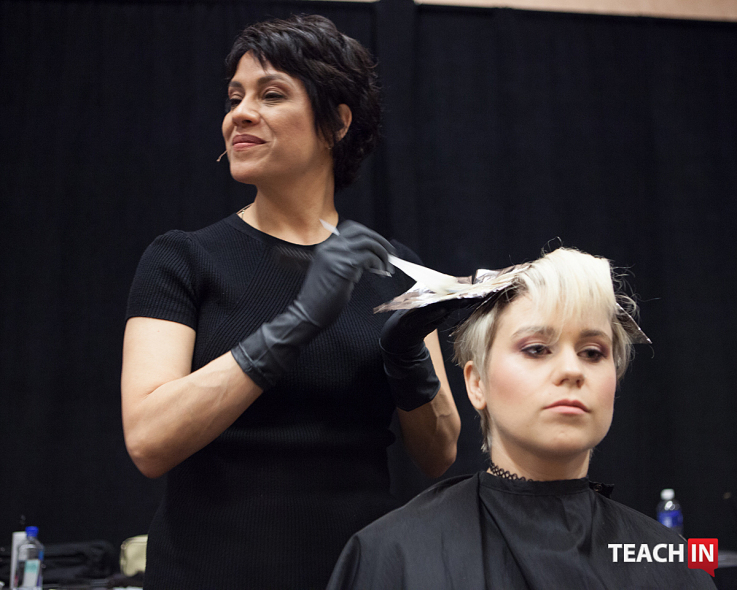 Teach In After NAHA - Lupe Voss @randytaylorfoto
